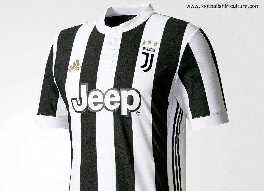 reputable site f3c1a 65acd Juventus 2017-18 Adidas Home Kit | 17/18 Kits | Football ...