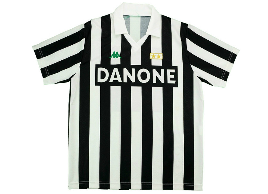 f6c22cd1494 Kappa 1992 Juventus Match Worn Home Shirt
