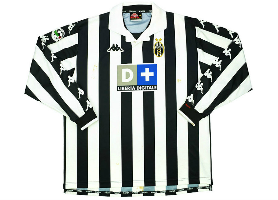 huge selection of 2b84b f03a1 Kappa 1999-00 Juventus Match Issue Home Shirt | Vintage ...