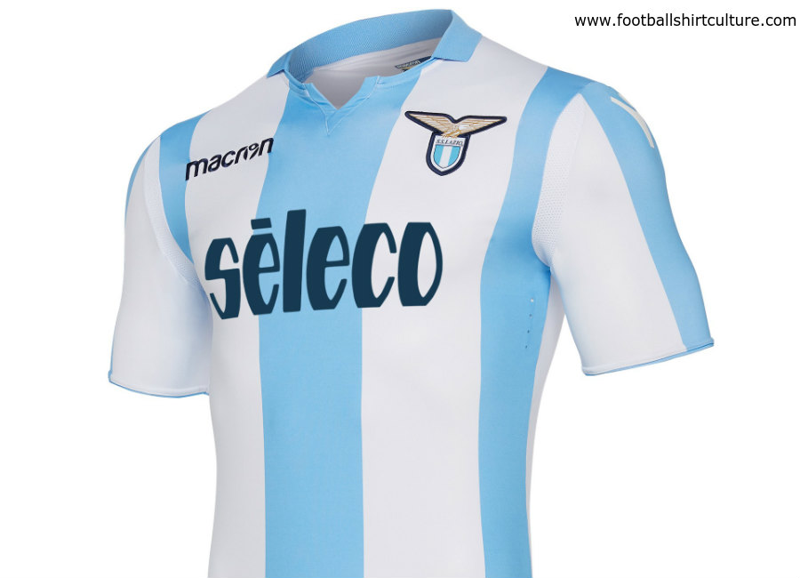 Lazio 17 18 Macron Away Kit  9f75571c5