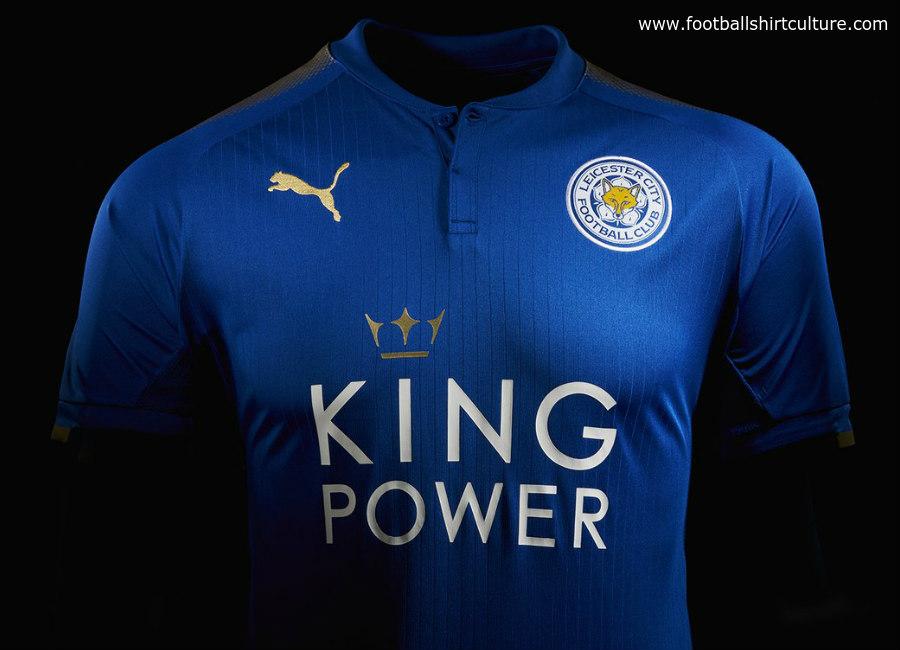 ba8bae01b3f Leicester City 2017-18 Puma Home Kit