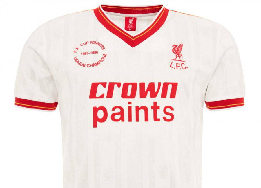 557bde3e7 Liverpool 1986 LFC Retro Away Shirt