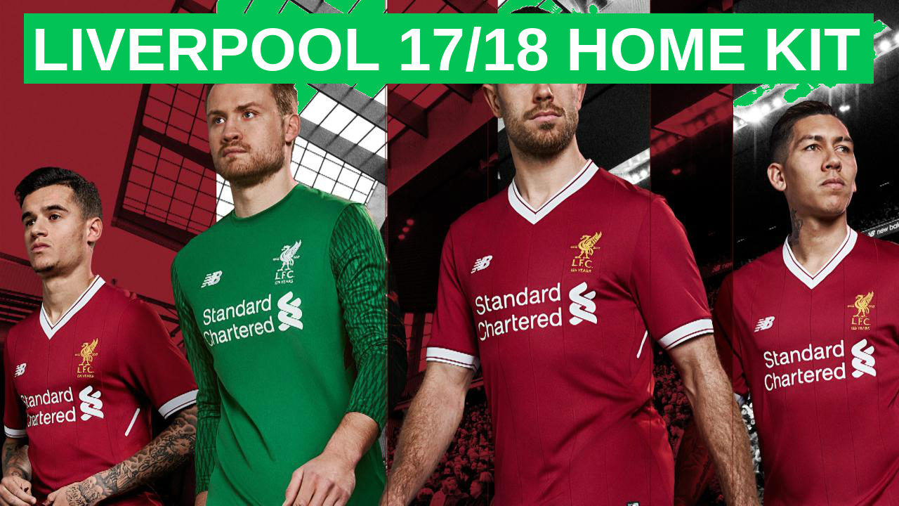 Liverpool 17-18 Home Kit Photo Shoot - Behind The Scenes