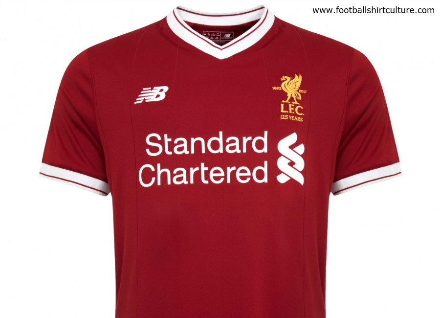 Liverpool 17/18 New Balance Home Kit