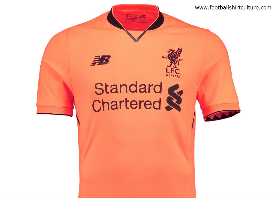 classic fit 32e42 8edf8 Liverpool 17/18 New Balance Third Kit | 17/18 Kits ...