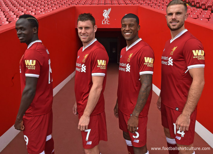 Liverpool And Western Union Announce Shirt Sleeve Sponsordeal
