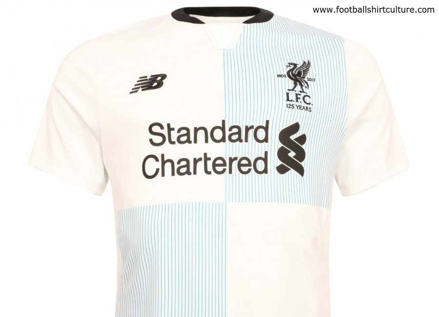 LFC Limited Edition New Balance 125th Anniversary Elite Blue   White Boxed  Shirt c98887273