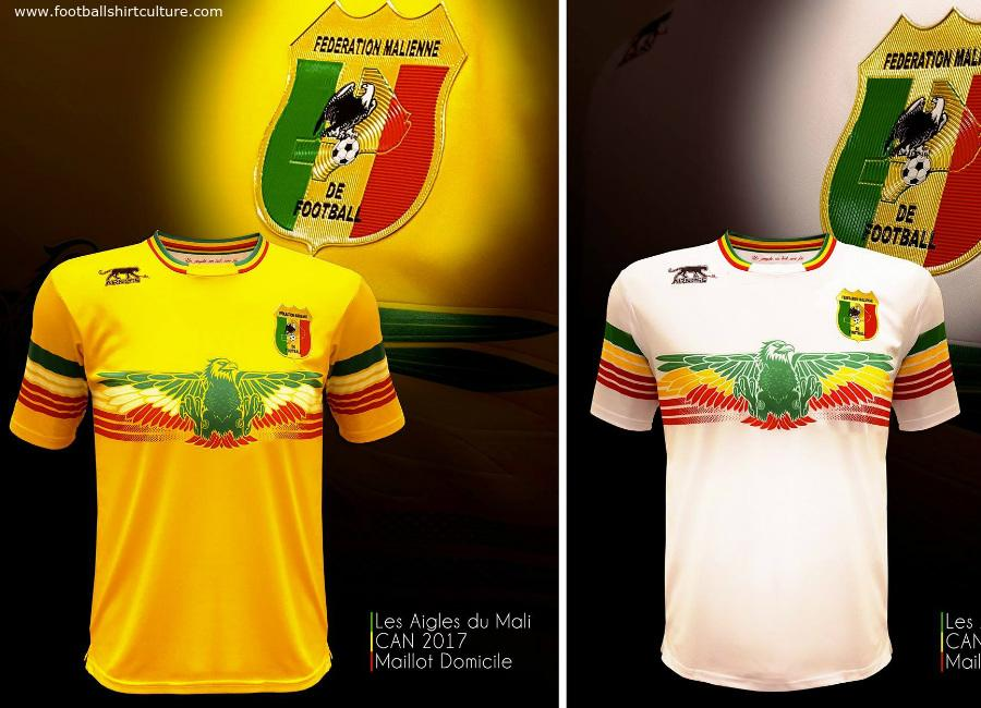 Mali 2017 Airness Home Away Shirts