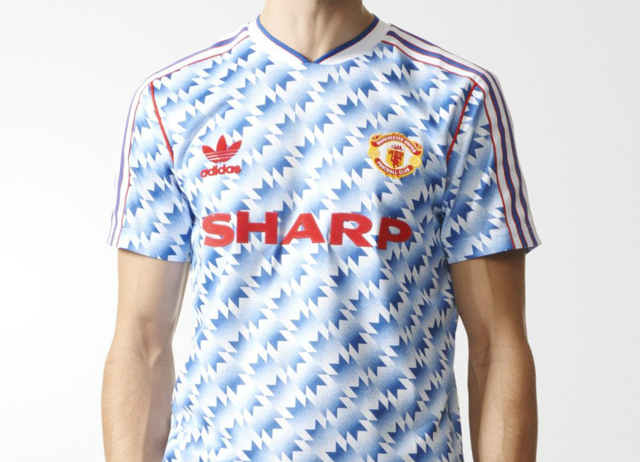 Manchester United Fc Adidas Originals 90s Away Jersey