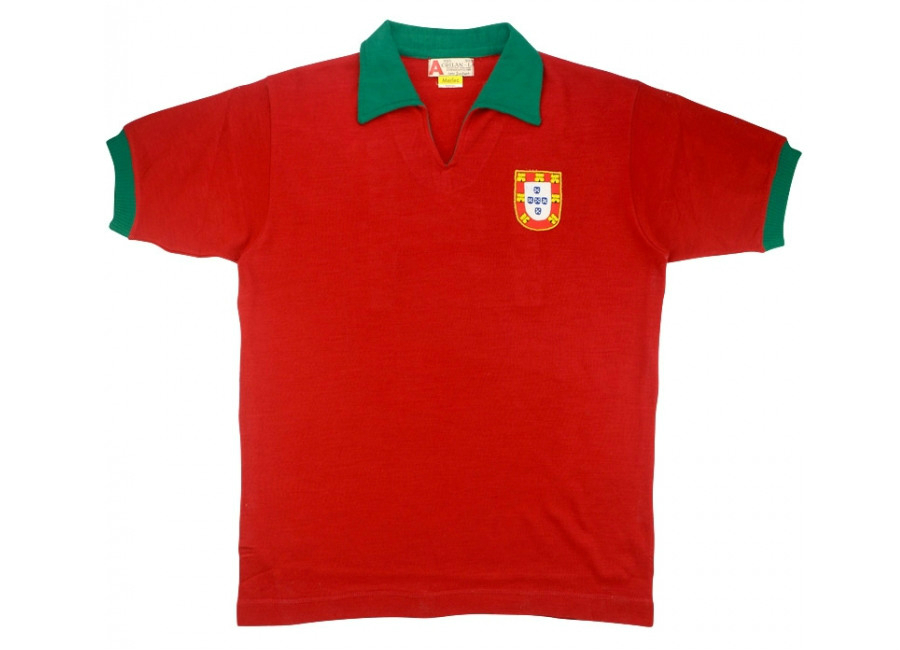 Marlec 1971 Portugal Match Issue Home Shirt Rolando