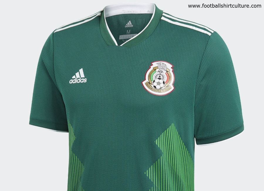 Mexico 2018 World Cup Adidas Home Kit