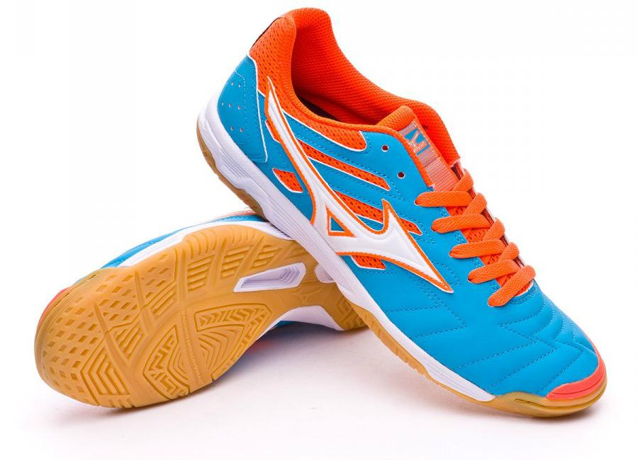 Mizuno Classic Ii In Atomic Blue Orange Crown Fish