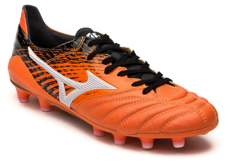 Mizuno Morelia Neo Ii Made In Japan Orange Clownfish White Black