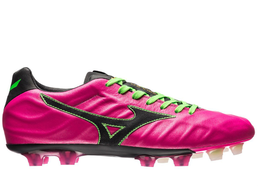 Mizuno Rebula V1 Made In Japan Md Boots Pink Glow Black Green Gecko