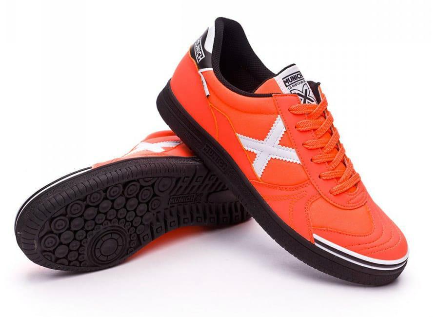 174833fd840 Munich G3 Football Shoe - Orange / Black / White | Equipment ...