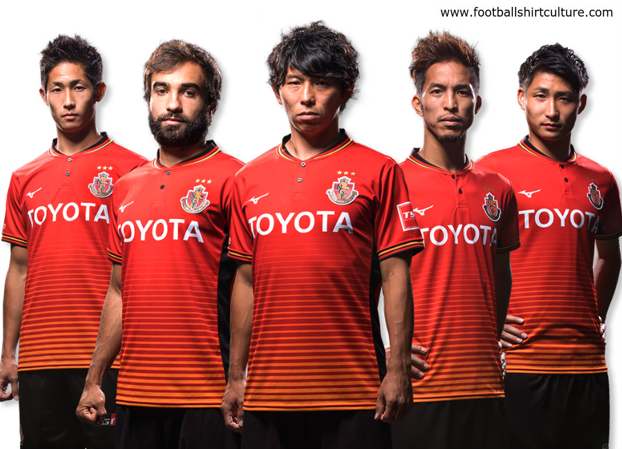 Nagoya Grampus 2018 Mizuno Home Kit