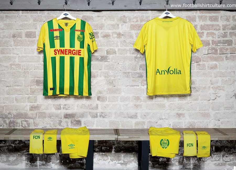 Nantes 2017 Umbro Supporters Kit
