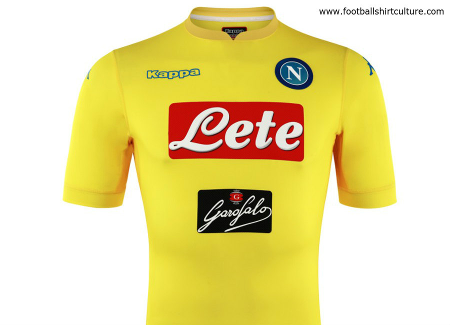 Napoli 17 18 Kappa Away Kit 17 18 Kits Football Shirt Blog