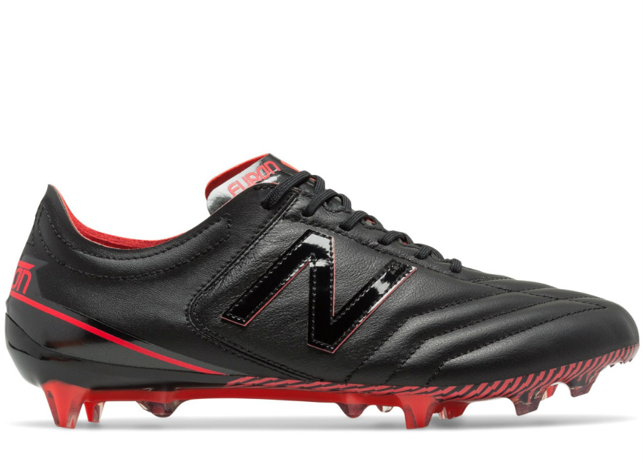 New Balance Furon 3 0 K Leather Fg Black Energy Red