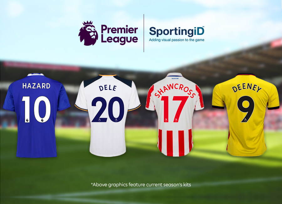 New Premier League Names And Numbers Design Unveiled