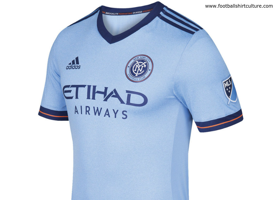 fae35904caf New York City FC 2017 Adidas Home Kit