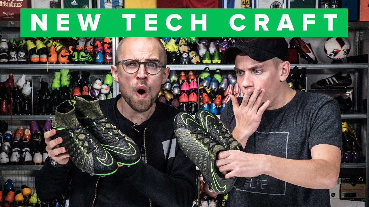 Nike Hypervenom 3 Tech Craft - The Ultimate Leather Nike Boot?