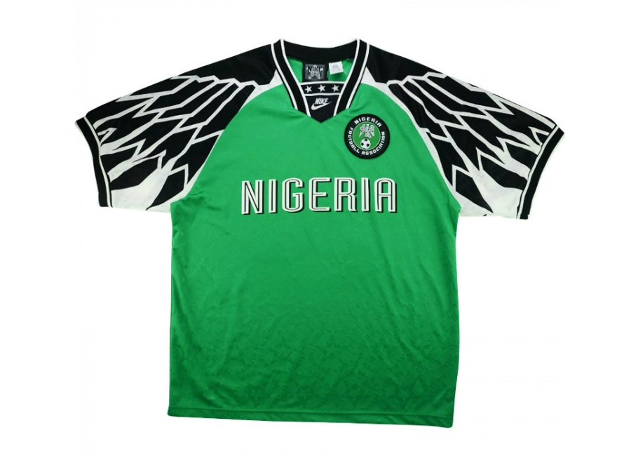 Nike 1994 Nigeria Match Worn Home Shirt Vintage Football Shirts Football Shirt Blog