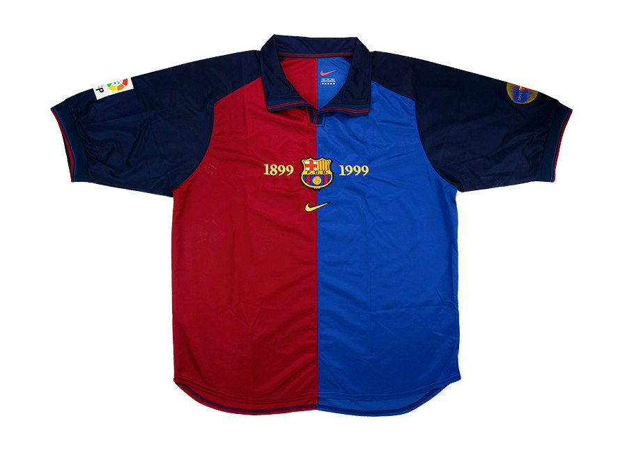 fedae1345 Nike Fc Barcelona 1999 00 Kit - Querciacb