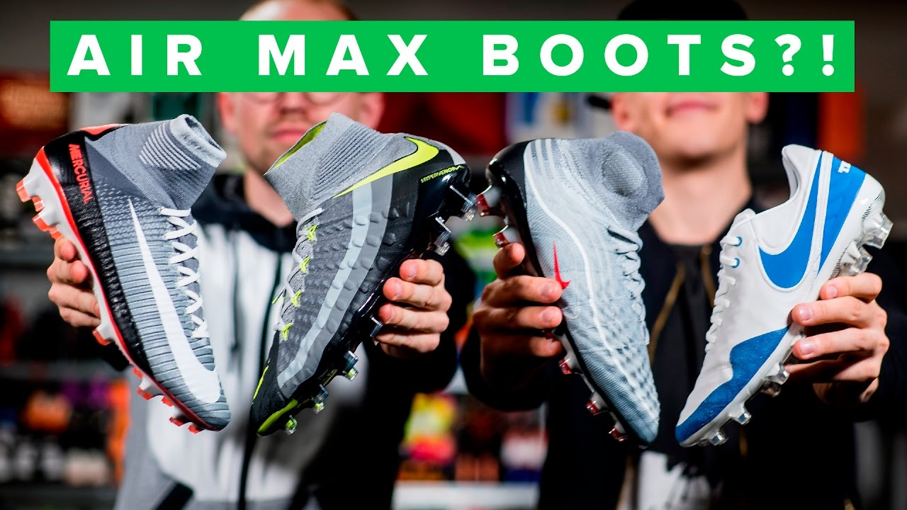 Nike Air Max Inspired Revolution Pack Football Boots