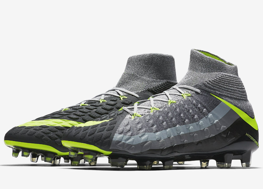 Nike Hypervenom Phantom 3 Df Se Fg Revolution Wolf Grey Stealth Anthracite Volt