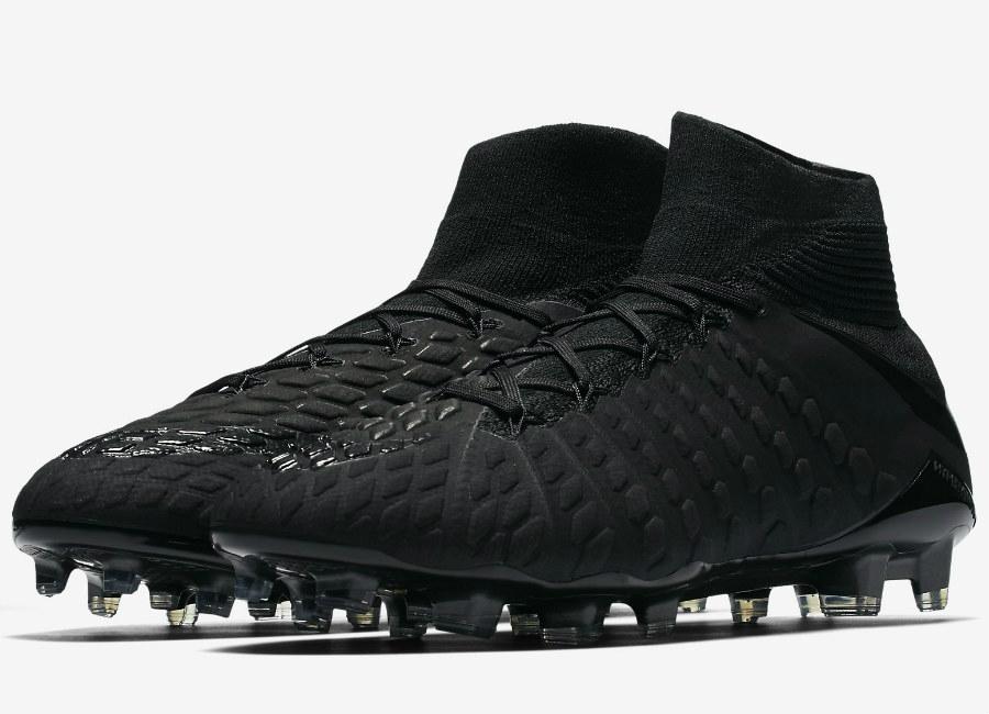 newest 2d389 adbca Nike Hypervenom Phantom 3 DF FG Academy Pack - Black   Black   Black