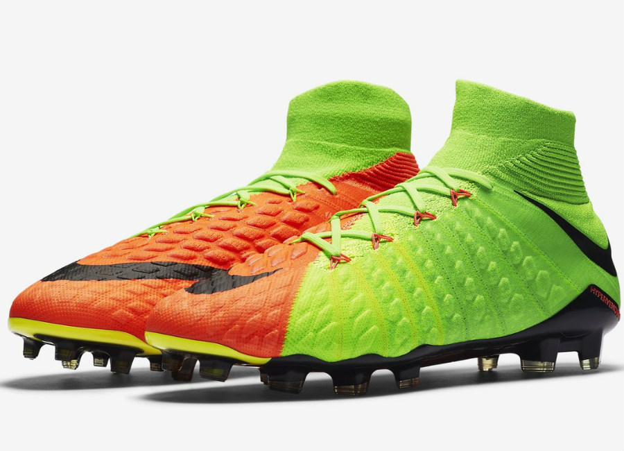 828ce423c553 Nike Hypervenom Phantom 3 Df Fg Radiation Flare Pack Electric Green Hyper  Orange Volt Black