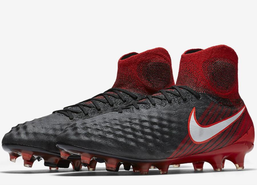 official photos 53f11 505b7 Nike Magista Obra II FG Fire  Ice - Black  University Red  Bright Crimson