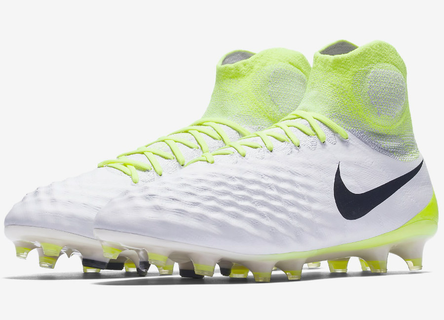 Nike Magista Obra Ii Fg Motion Blur White Volt Pure Platinum Black