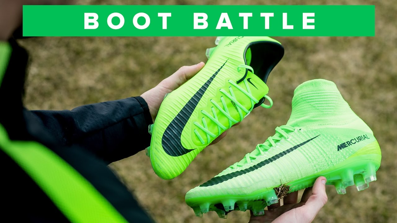 Nike Mercurial Superfly 5 vs Vapor 11 Battle