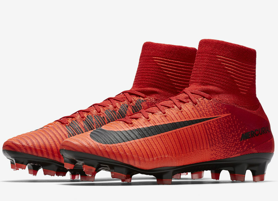 online store 947e7 bb13e Nike Mercurial Superfly V FG Fire & Ice - University Red ...