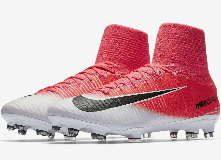premium selection f5931 c8cd6 Nike Mercurial Superfly V Fg Motion Blur Racer Pink White Black