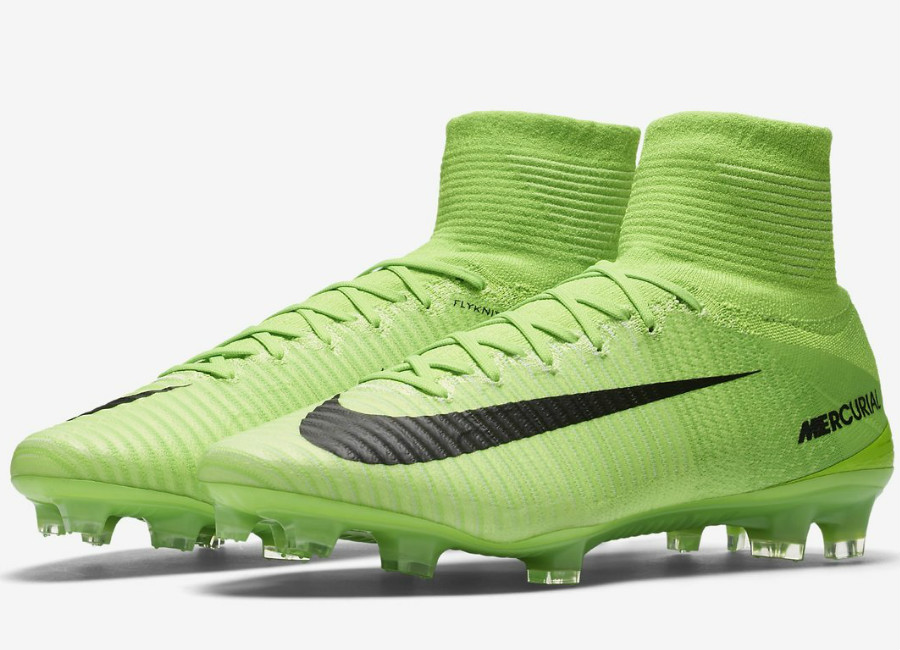Nike Mercurial Superfly V Fg Radiation Flare Pack Electric Green Ghost Green White Black