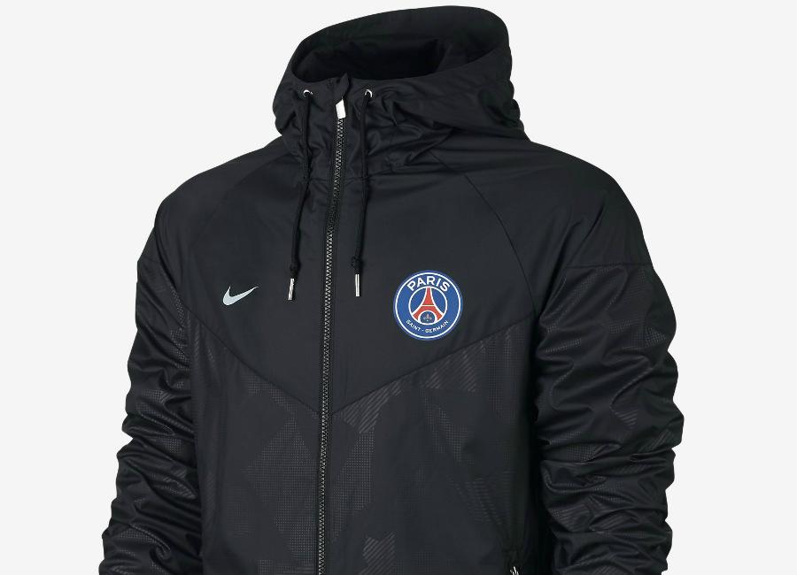 Nike Paris Saint-Germain Authentic Windrunner - Black / Pure Platinum |  Equipment | Football shirt blog