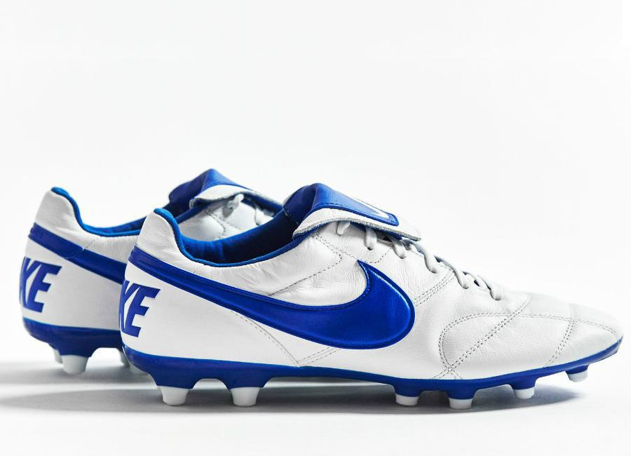 7051d648d Nike Premier 2.0 FG - White / Racer Blue | Football boots | Football ...