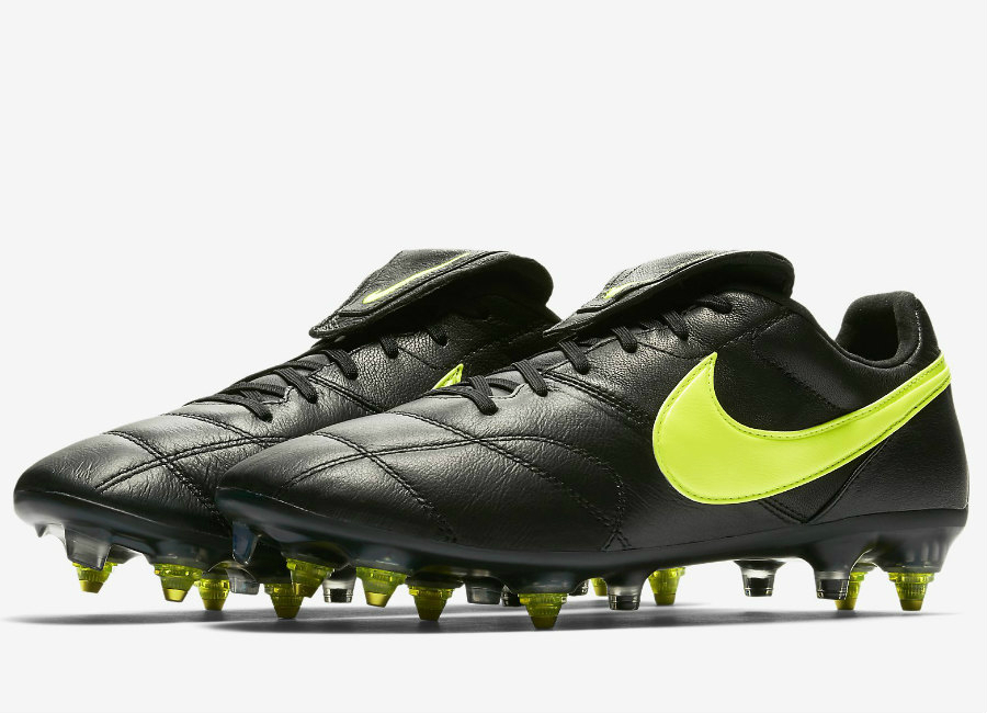 Nike Premier Ii Anti Clog Traction Sg Pro Black Black Volt