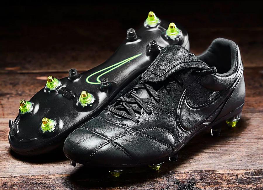 Nike Premier II SG-Pro AC - Black / Black / Black