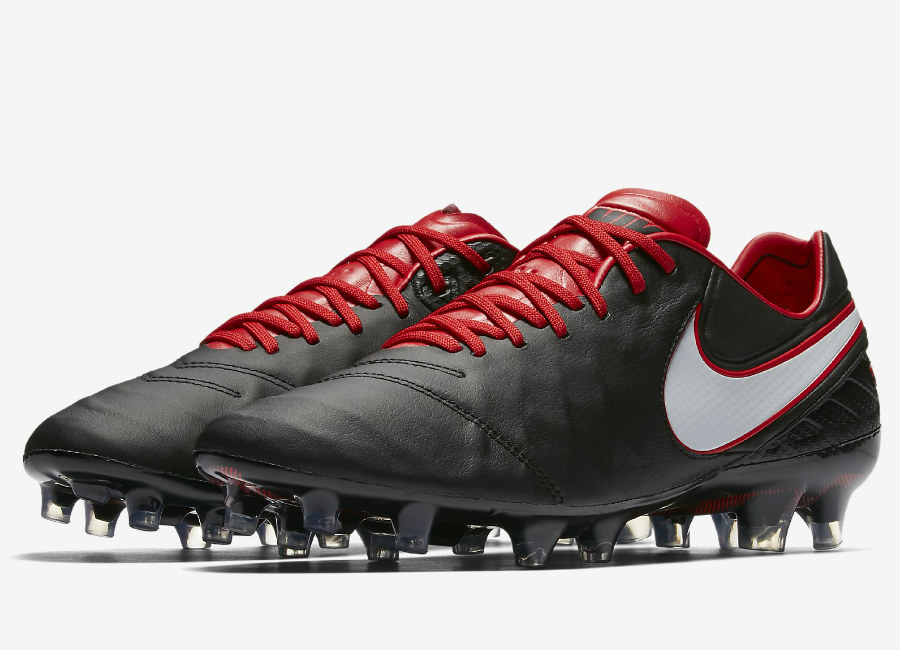 Nike Tiempo Legend Vi Fg Derby Days Black University Red White White