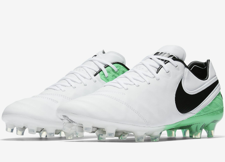 new styles 20a34 ef75b Nike Tiempo Legend VI FG Motion Blur - White   Electro Green   Black