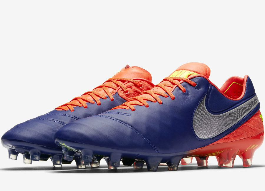 Nike Tiempo Legend Vi Fg Time To Shine Deep Royal Blue Total Crimson Bright Citrus Chrome