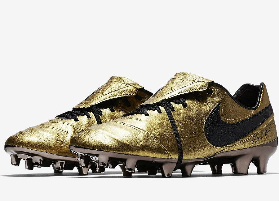 new concept f419c 58785 Nike Tiempo Legend VI SE FG Totti X Roma - Metallic Gold ...