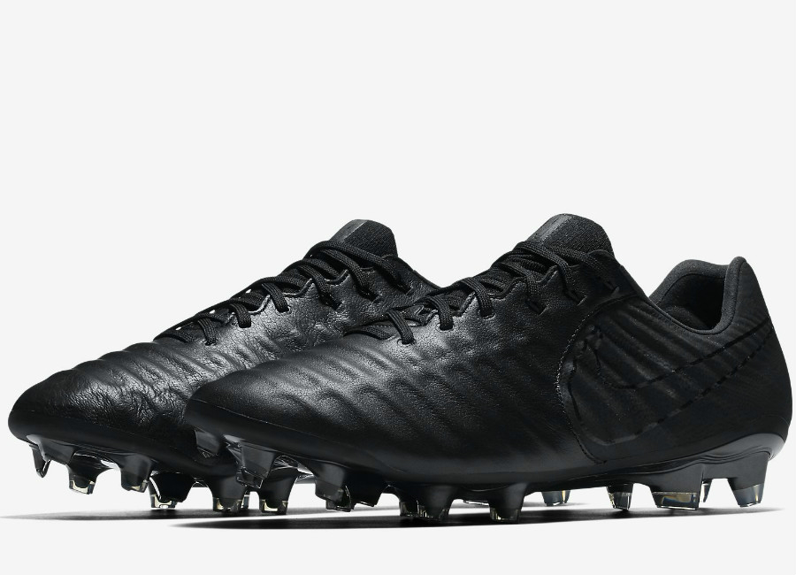Nike Tiempo Legend VII FG Academy Pack - Black  Black  Football boots   Football shirt blog