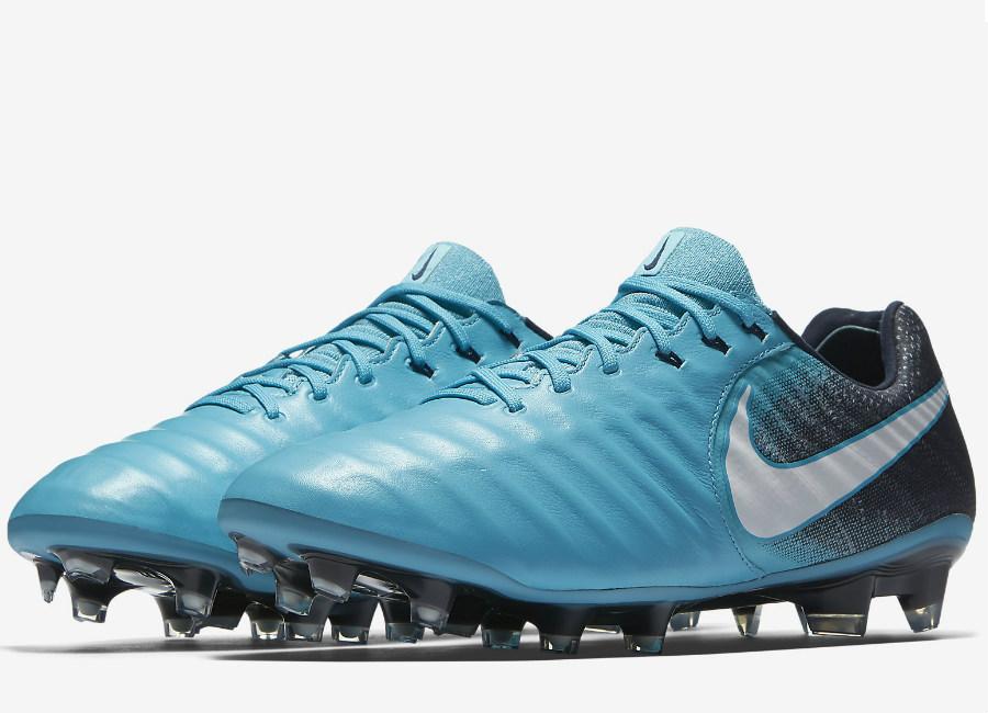 1ed7e854a909 Nike Tiempo Legend VII FG Fire   Ice - Gamma Blue   Obsidian   Glacier Blue    White