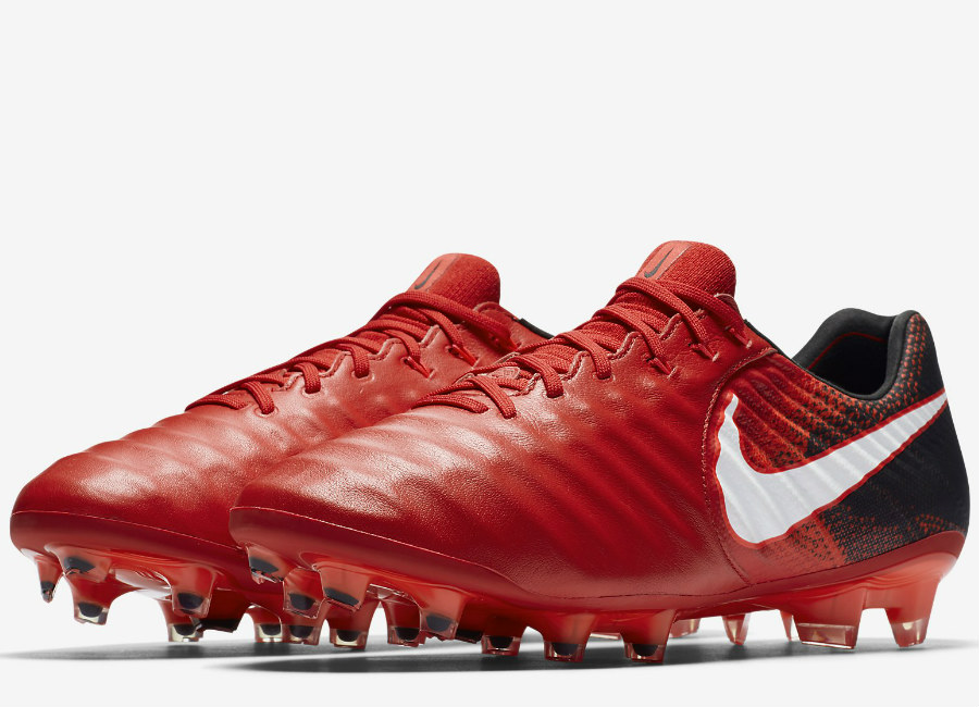 Nike Tiempo Legend VII FG Fire & Ice - University Red / Black / Bright Crimson / White