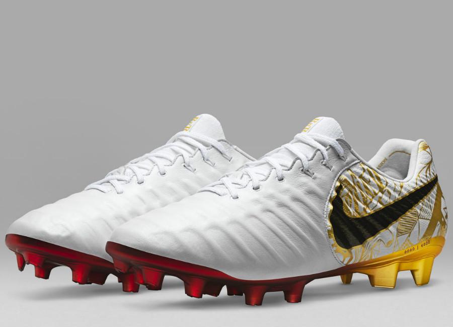 best sneakers 3b645 9bd1d Nike Tiempo Legend VII SE FG Sergio Ramos - White / Metallic ...